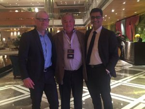 With Steve Waring and Prof.Ian Learmonth